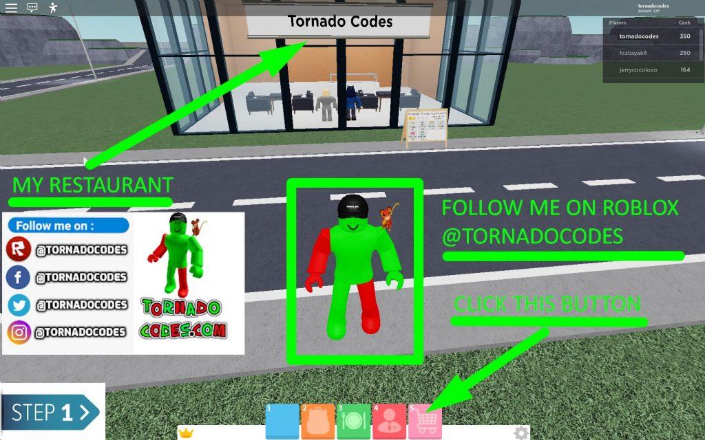 Restaurant Tycoon 2 Codes